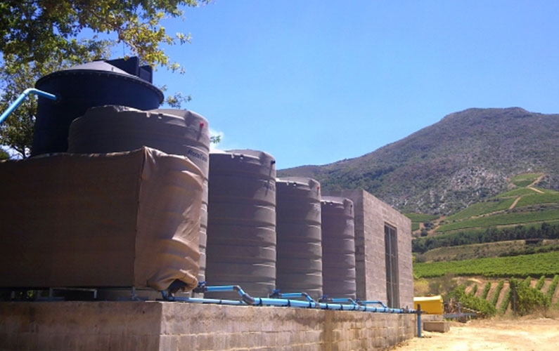Klein Constantia Wine Estate Water Treatment Plant