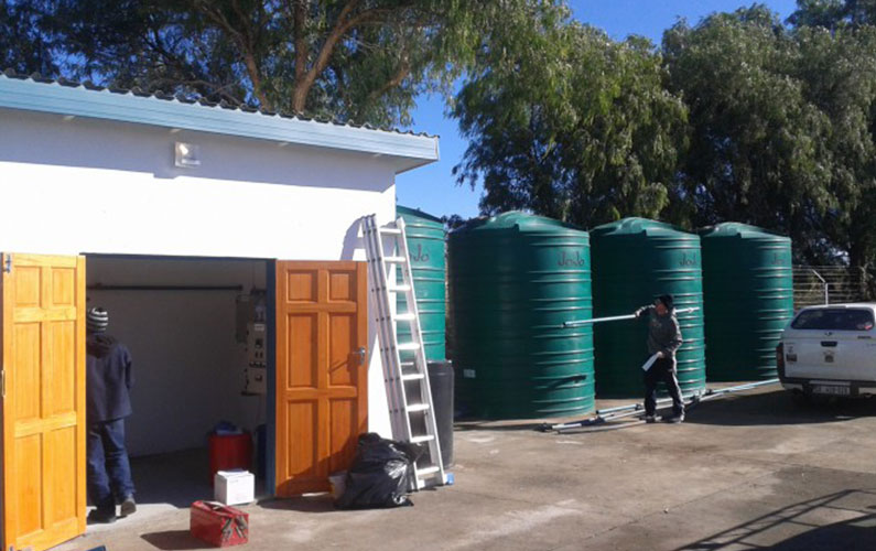 Mosstrich Abbattoir Water Treatment, De Aar
