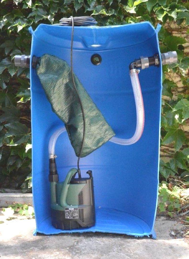 Grey Water Pump Sump