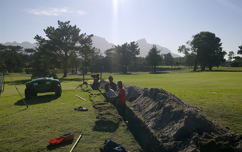 Royal Cape Golf Club Irrigation