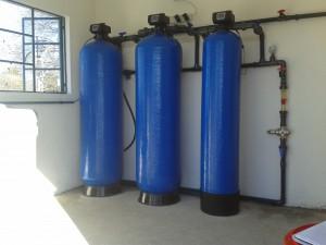 Zeolite filter, GAC filter and softener
