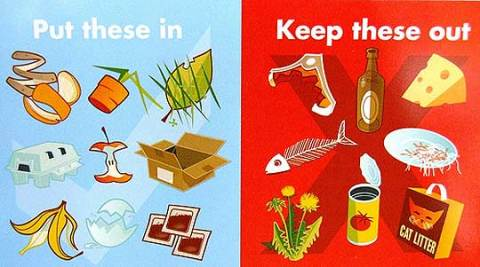 Organics to compost